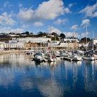 Reflections on Torquay harbour