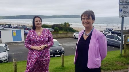 Devon and Cornwall Police and Crime Commissioner Alison Hernandez and North Devon MPSelaine Saxby