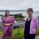 Devon and Cornwall Police and Crime Commissioner Alison Hernandez and North Devon MP Selaine Saxby
