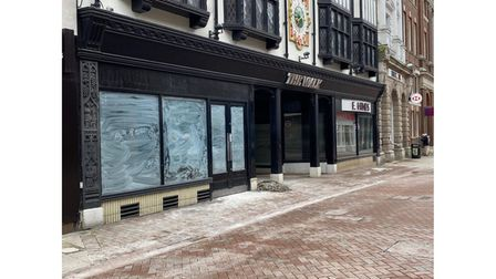 The Thorntons chocolate shop in Tavern Street, Ipswich, has been completely cleared out