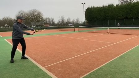 Cleeve Lawn Tennis Club will run sessions for juniors