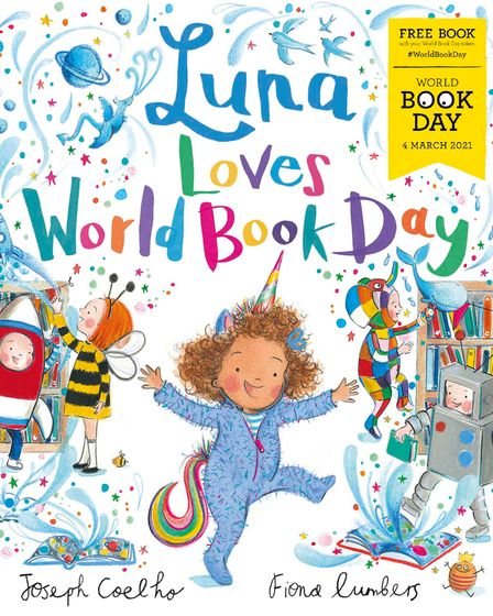 Luna Loves World Book Day is one of twelve £1 books available to buy with a free book token issued to pupils on March 4