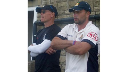 Clevedon's Piers McBride and Jake Lintott