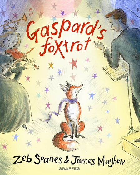Gaspard's Foxtrot is out on March 4 published by Graffeg Books