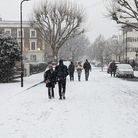 More and m ore people are walking in Islington
