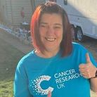 Three Counties member runs for Cancer Research UK