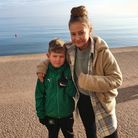 Cache and his sister Evannah