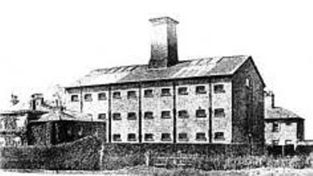 The old Huntingdon County Gaol was in use from 1768-1892.