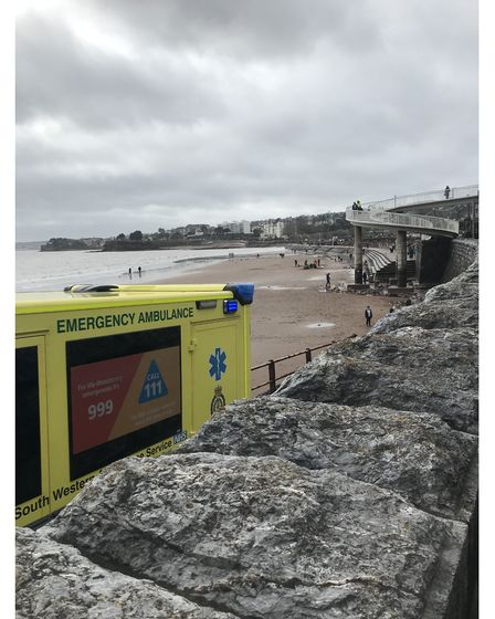 Picture of Torquay beach rescue