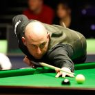 Matthew Selt in action against Ding Junhui, during day six of the Betway UK Championship at The York