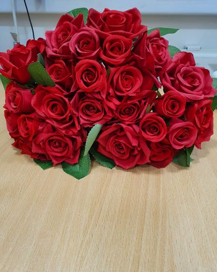 Harbour Residential Care Centre alsothanked members of the community who donated a bunch of beautiful red roses to the home.