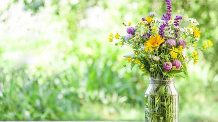 Fresh flowers are a cottagecore essential, says Rebecca.