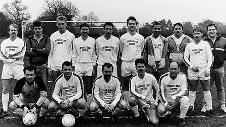 Cell Barnes won the Herts Ad Sunday League Division Five title in 1989