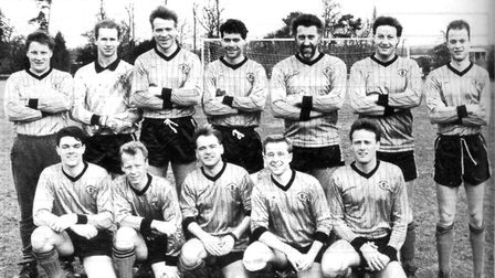 Brookmans Park were the Herts Ad Sunday League Premier Division champions in 1989
