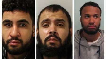 Ahmed Chamlani, Omar Abdurahman and Numan Arif from London were sentenced at Bristol Crown Court on February 11for conspiring to supply class A drugs in the South Ward area of Weston-super-Mare.