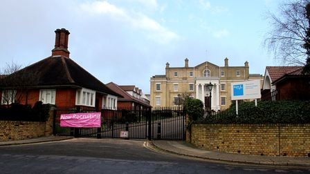 The Grade II listed building of the former Anglesea Heights Care Home in Ipswich