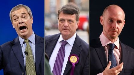 Nigel Farage, Gerard Batten and Daniel Hannan have made staggering remarks about the coronavirus. Ph