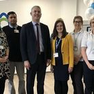 MP Steve Barclay, pictured in 2019, at the official opening of the North Cambs Hospital Wisbech redevelopment.