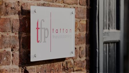 Tatton Financial Planning sign
