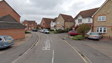 A man and woman were taken to hospital after sustaining burn injuries in a fire which took in a Chadwell Heath home.
