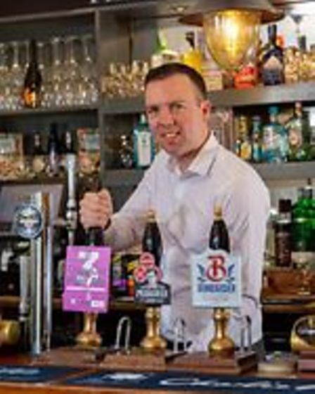 The first pizza run was the idea of Ben Satchfield, proprietor of The Gate pub in Bricket Wood, in discussion with a friend who works at the hospital.