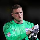 Goalkeeper David Stockdale in his Birmingham City days
