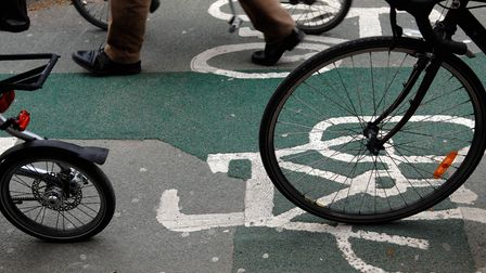 Plans for an £850,000 cycle lane in Orpington are set to be rejigged. Picture: Tim Ireland/ PA