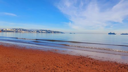 Preston Sands, a beach in Paignton