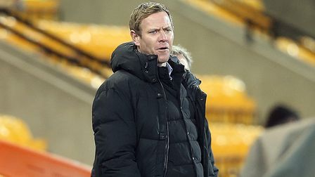 Bristol City Manager Dean Holden during the Sky Bet Championship match at Carrow Road, Norwich