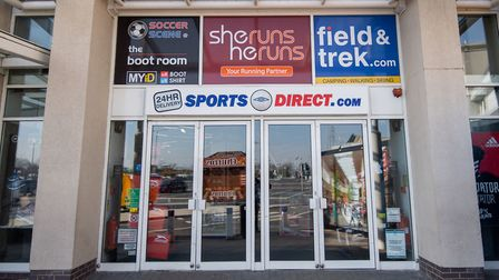 A Sports Direct store in Leicester, the day after Prime Minister Boris Johnson put the UK in lockdow