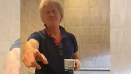 Brexiteer Tim Martin tells workers they won't be paid for a period during the coronavirus outbreak.