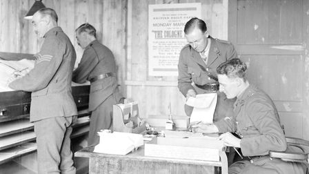 Journalists at The Cologne Post defied orders to publish details of the Treaty of Versailles. Pictur