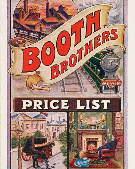 Booth Brothers, 1913. Picture: Bodleian Libraries, University of Oxford