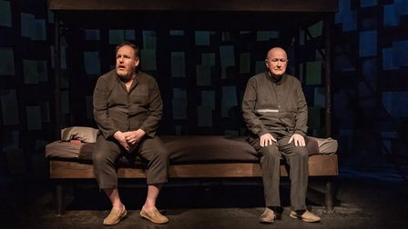 Niall Buggy and David Ganly in 'On Blueberry Hill' at Trafalgar Studios, London. Picture: Marc Brenn