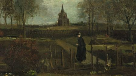 A painting by Vincent van Gogh. But which one? (Question six)
