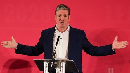 Sir Keir Starme during the Labour Party Leadership hustings. (Photo by Ian Forsyth/Getty Images)