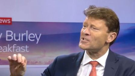 """Brexit Party chairman Richard Tice said Nigel Farage is """"very brave"""" not to stand in the next genera"""