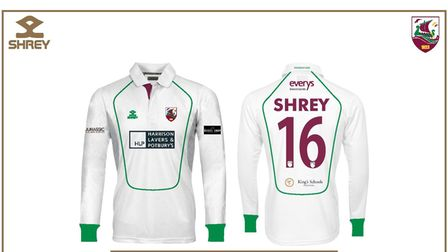 Sidmouth CC new kit