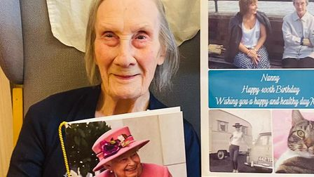 Ethel Smith celebrated her 100th birthday just weeks after getting the first dose of the Covid jab.