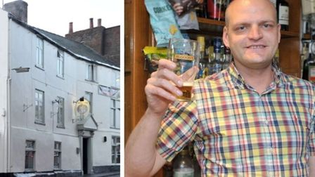 The Angel Inn, Wisbech, where publican Cllr Aigars Balsevics is hoping to extend licensing hours for