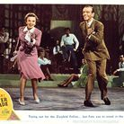 Judy Garland andFred Astaire in a lobbycard for the 1948 film Easter Parade