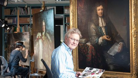 As one of Britain's leading art conservators, Simon Gillespie spends a lot of his working day up close to some of the...
