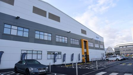 The new Amazon Warehouse in Ipswich Picture: CHARLOTTE BOND