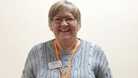 Helen Kingsford is a volunteer at Saint Francis Hospice, Havering-atte-Bower