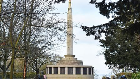 The Lowestoft Naval Memorial to the Royal Naval Patrol Service in Sparrow's Nest.