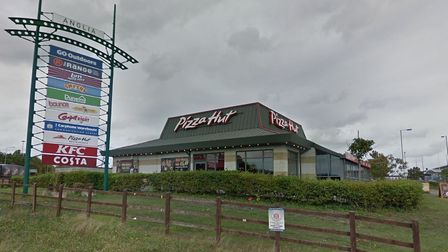 The Pizza Hut restaurant in Anglia Retail Park, where Tim Hortons look to open a restaurant