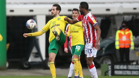 Mario Vrancic has had an extended run in the Norwich City
