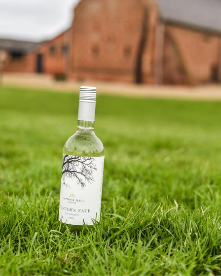 Foster's Fate, the new wine from Copdock Hall Vineyard
