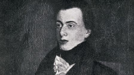 George Borrow,1803-1881. English writer and traveller. From the painting by John Borrow (Photo by Un
