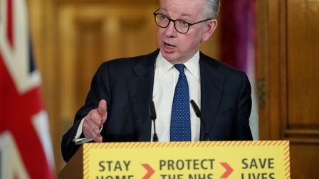 Minister for the Cabinet Office Michael Gove previously blamed China for the government's slow respo